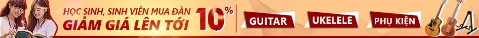 Đàn Guitar - Giảm giá 20% sinh viên